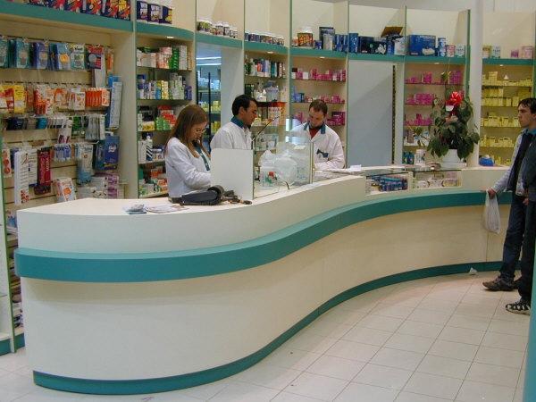 Fabricaci n de mostradores para farmacias - Mostradores de diseno ...